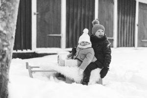 Lapsikuvaus, perhekuvaus, Hyvinkää, talvi